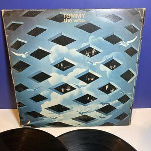 The Who Tommy Decca DL 75127 LP Vinyl Trifold Book